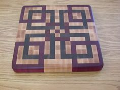 Beautiful end grain cutting boards free project plan End Grain Cutting Board, Diy Cutting Board, Wood Cutting Boards, Butcher Block Cutting Board, Chopping Boards, Butcher Blocks, Woodworking Guide, Custom Woodworking, Woodworking Projects Plans