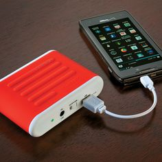 Portable Charger – jump starts your car AND charges your phone, tablet or other electronic device via USB.