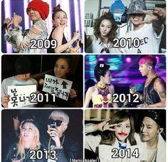 Daragon moment every year^^ Gd Bigbang, Daesung, Akdong Musician, Top Choi Seung Hyun, Sandara Park, Exo Memes, Park Photos, Jiyong, Kpop