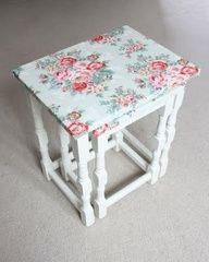 side table decoupage - Google Search