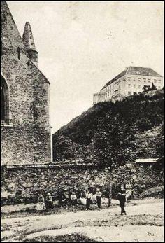 Dolní Kounice - klášter Rosa coeli 1904 Louvre, Building, Travel, Pink, Viajes, Buildings, Destinations, Traveling, Trips