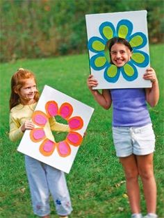 How To Summer Crafts For Kids -photo -idea-made by kids -fun -Fotos von Kindern… Summer Crafts For Kids, Summer Kids, Spring Crafts, Projects For Kids, Diy For Kids, Craft Projects, Craft Ideas, Daycare Crafts, Preschool Crafts