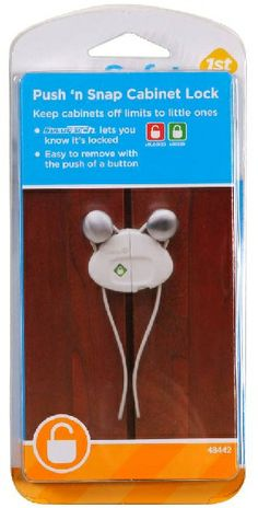 Safety 1st Cabinet Locks recalled because children can disengage locks.