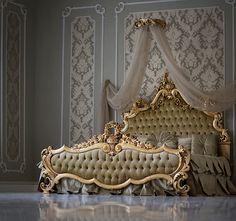 Luxury Bedroom Sets, Luxury Bedroom Furniture, Royal Furniture, Luxury Bedroom Design, Bedroom Bed Design, Bed Furniture, Luxurious Bedrooms, Home Decor Bedroom, Garden Furniture