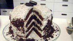 Σοκολατένια τούρτα γενεθλίων OREO