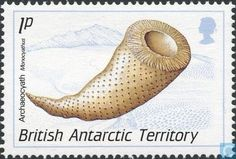 Postage Stamps - British Antarctic Territory - Fossils