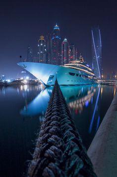 Dubai Marina by Dimitri Antonov