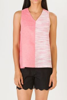Saving to remember pink khadi fabric, Not this style.