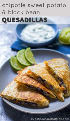 ... Pinterest | Quesadillas, Chicken Quesadillas and Black Bean Quesadilla