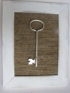 The Simple Craft Diaries: Jute Yarn Key Frame
