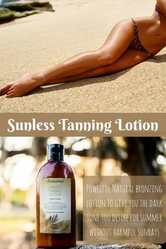 Get all the benefits of a great Sunless Tanner, with only the purest natural ingredients! Your skin will love this nourishing handcrafted formula!
