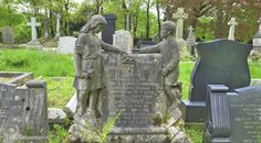 Burnley Cemetery, Lancashire, England. 9th May 2014.