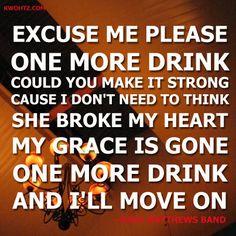 Grace Is Gone #DMB