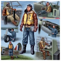 British pilots and crews of bombers Military Diorama, Military Art, Ww2 Aircraft, Military Aircraft, Air Force Uniforms, Pilot Uniform, De Havilland Mosquito, Lancaster Bomber, Battle Of Britain