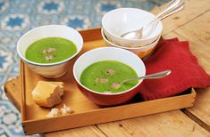 This easy pea and ham soup recipe makes a healthy family meal, using freezer ingredients and ready in just 30 mins. See more Soup recipes on Tesco Real Food. Healthy Pastas, Healthy Recipes, Frozen Fish Fillets, Roasted Ham, British Dishes, Pea And Ham Soup, Green Soup, Tesco Real Food, Sweet Potato Wedges