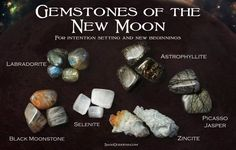 Gemstones of the new moon                                                       …