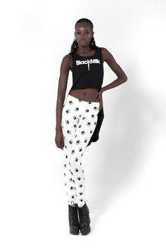 Paw prints leggings