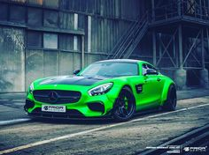 The Hulk Is Here. Mercedes-AMG GT S Prior-Design GmbH PD800GT #Widebody PD3Forged Prior-Design Wheels H&R Suspension www.Prior-…