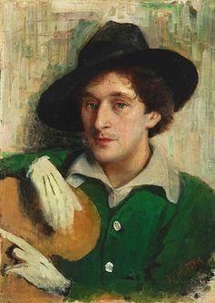 Portrait of Marc Chagall, 1915 - Iouri Pen