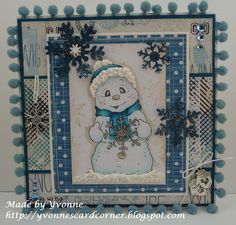 Welcome to Yvonne's Cardcorner: Challenge november Scrap