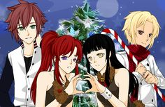 Darius, Zora, Caroline & Diego