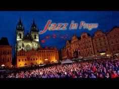 Джаз группа из Элмхурст Колледжа (Америка) в Праге
