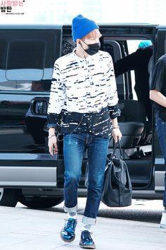 [AIRPORT] 150604- BTS Suga (Min Yoongi) at Incheon Airport #bangtan #bangtanboys…