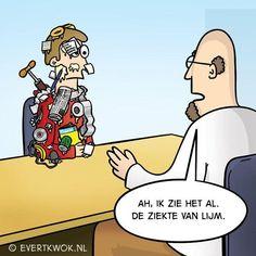 De leukste 'komt een man bij de dokter'-grappen van Evert Kwok Cartoon Jokes, Cartoons, Menopause Humor, Medical Jokes, Funny Quotes, Funny Memes, Sarcasm Humor, Nurse Humor, Laugh Out Loud
