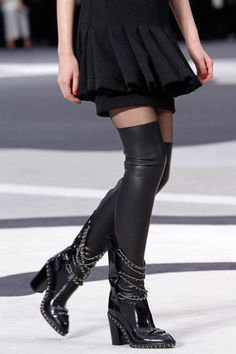 (Should've been a stiletto heal) Chanel, boots