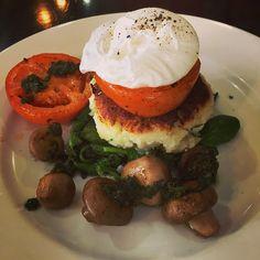 Breakfast at Basket and Green, Elizabeth Street #Foodie #Hobart #Tasmania Article and photo for think-tasmania.com