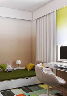 Ukrainian Design Team Creates Interiors of Luxurious Comfort (and bunny)