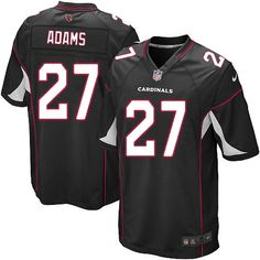 Men Nike Arizona Cardinals #27 Michael Adams Limited Black Alternate NFL Jersey Sale