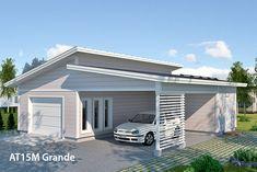 Autotalli 15M Grande #sinivalkoinenvalinta #avainlippu