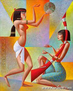 #168  «Egyptian Dancers»
