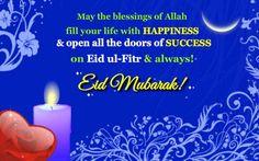 Best Eid Mubarak Greeting E-card 2014 Happy Eid Ul Fitr, Eid Greeting Cards, Eid Mubark, Eid Mubarak Card, Eid Mubarak Greetings, Ecards, Quotes, Life, Quotations