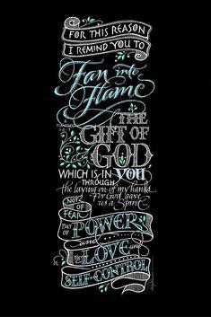 Fan Into Flame | Holly Monroe calligrapher – Heirloom Artists: Holly Monroe