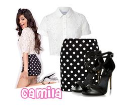 """""""Camila-Fifth Harmony"""" by princessofarendelle ❤ liked on Polyvore featuring Glamorous, Boohoo and CAMILA"""