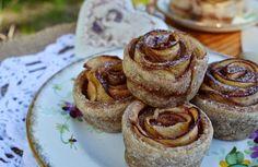 Troll a konyhámban: Almás rózsa - paleo Troll, French Toast, Cheesecake, Breakfast, Recipes, Food, Diet, Morning Coffee, Cheesecakes