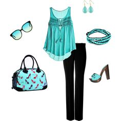 I need to find a cheaper version of this adorable outfit! I love the shoes <3