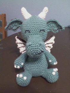 cutest crochet dragon ever!