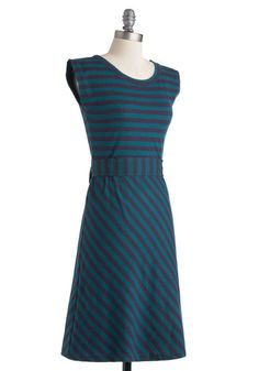 Riviera Romance Dress in Teal, #ModCloth