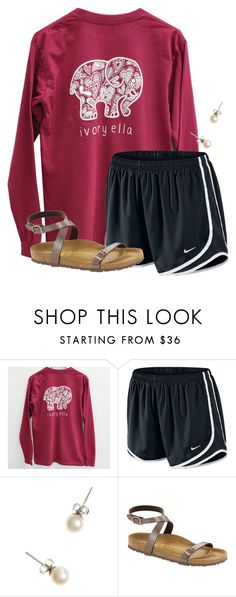 """""""5 days until Christmas """" by flroasburn ❤ liked on Polyvore featuring NIKE, J.Crew and Birkenstock"""