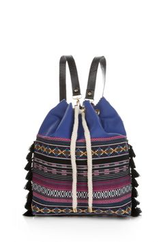 Ethnic Embroidered Backpack