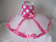 Dog Tutu XXS Pink With White Polka Dots By Ninas Couture Closet Via Etsy