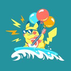 #pikachu #pokemon #tshirts