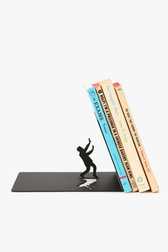 The End Bookend- One day I will have proper bookshelves and I will know which bookend will complete them.