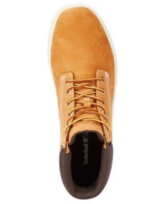 Timberland Men's Groveton Hi-Top Sneakers - Tan/Beige 10