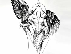 1 idées pour un beau tatouage avec des ailes d'ange que vous pouvez vraiment apprécier ▷ 1001 + Ideen für einen schönen Engelsflügel Tattoo, die Ihnen sehr gut gefallen können – - Magazine De Défilé De Mode Trendy Tattoos, Small Tattoos, Tattoos For Guys, Tribal Tattoos, Men Tattoos, Maori Tattoos, Black Angel Wings, Black Angels, Tattoo Arm Designs