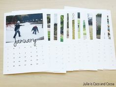 Top 10 Posts from 2015 #4 Photo Calendar - Julie is Coco and Cocoa