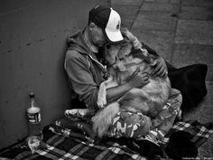 In sickness and in health, rich or poor, man's best friend will always be there